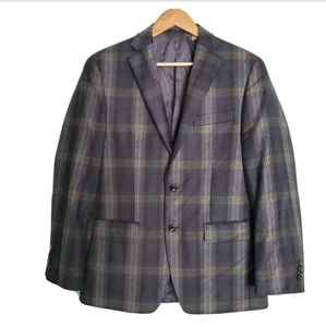 NEW Michael Kors Mens Plaid Sportcoat Jacket
